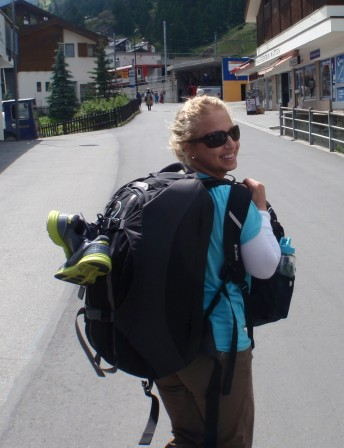 I've got a lot of baggage (NO! Not that kind!) that helps me travel the world!