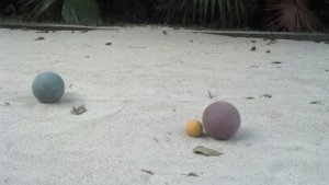 Bocce Ball free for all guests.