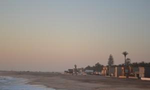 The coastal town Swakopmund
