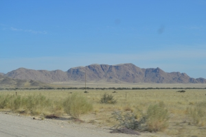 The drive to the Sosussvlei