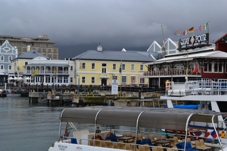 The V&A Waterfront in downtown Cape Town