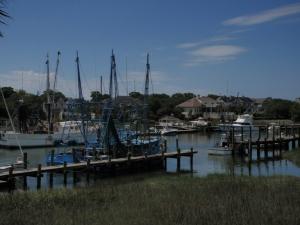 Iconic shrimping boats